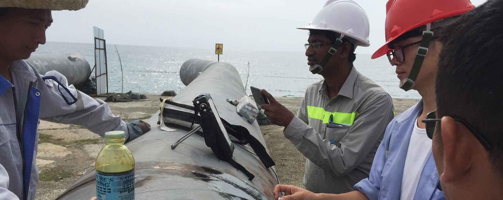 Submarine Pipeline Landing