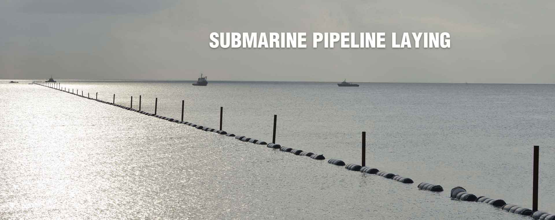 Submarine Oil & Gas Pipeline Laying and Repairing
