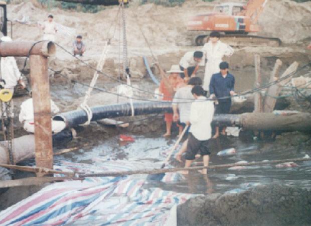 CNOOC Pinghu Oil Field Pipeline Repairing Project (Year 2002)