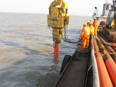 PetroChina Liaohe Oil Field Hainan-8 Submarine Pipeline Repairing Project (Year 2009)