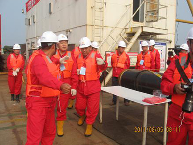 Tincy Energy Group Yuedong Submarine Pipeline Laying Project (Year 2011-2012)