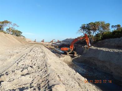 Tanzania Songo Songo Island—Somanga Submarine Laying Project (Year 2013)