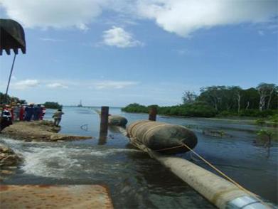 Tanzania Mnazi Bay Submarine Pipeline Laying Project (Year 2014)