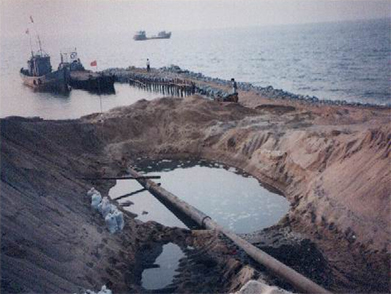 CNOOC BN Submarine Pipeline Landing Project (Year 2005)