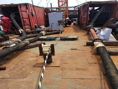 Huludao Submarine Optical Cable Laying  (Year 2017)