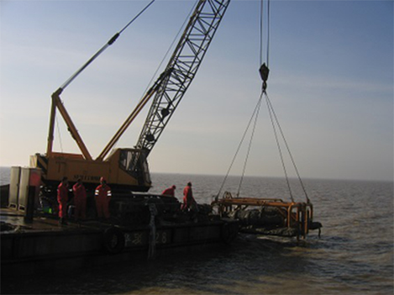 Dagang Oil Field Submarine Pipeline Post-Trenching Project (Year 2007)