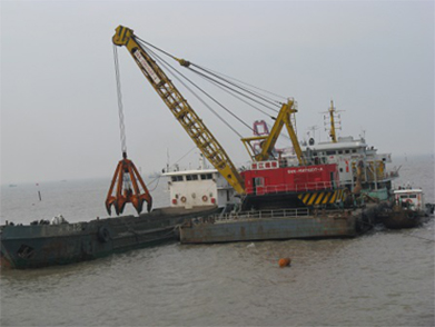Jidong Oil Field 1-2 Island Submarine Pipeline Post-Trenching Project (Year 2008)