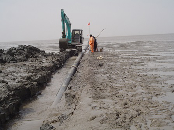 Liaohe Submarine Pipeline Post-Trenching Project (Year 2005)