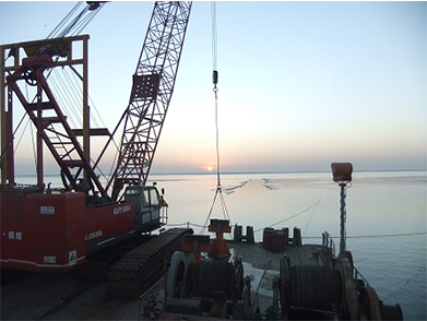 Yuedong Oil Submarine Pipeline Post-Trenching Project (Year 2011-2012)