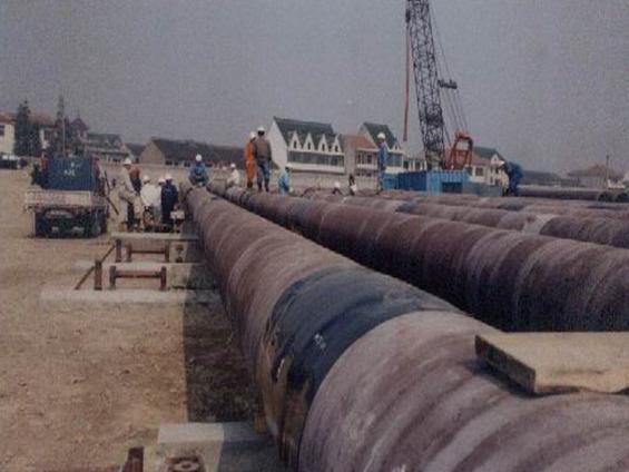 Sinopec Hangzhou Bay Submarine Pipeline Laying Project (Year 2003)