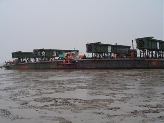 PetroChina Liaohe Oil Field Hainan-8 Submarine Pipeline Laying Project (Year 2005)