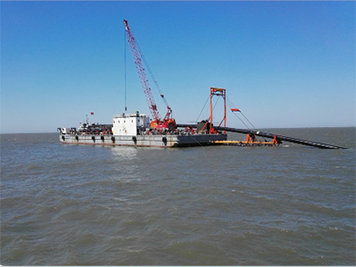 Liaobin Development Area Submarine Pollution Drainage Pipeline Laying Project (Year 2016)