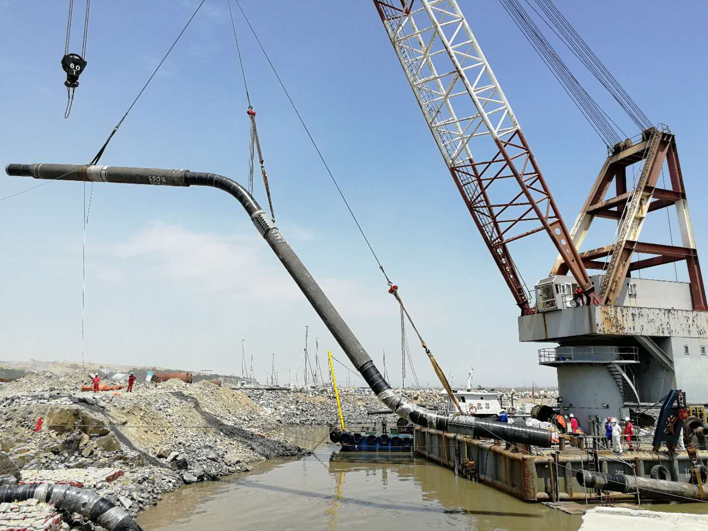 Offshore Pipe Installation