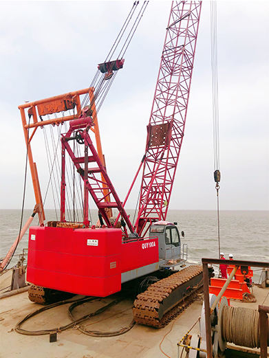 Tincy Energy Group Yuedong Oil Field Submarine/Offshore Cable Repairing (Year 2019)