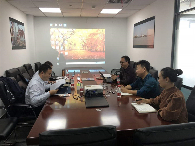 SINOMACH Heavy Industry Co., Ltd. visits Tianjin Tai Master Offshore Engineering Co., Ltd.