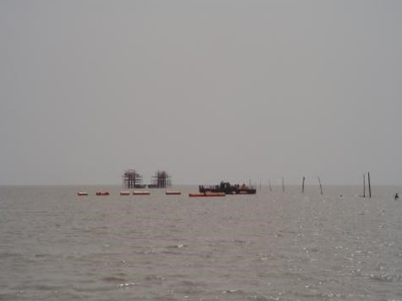 PetroChina Liaohe Oil Field Hainan-8 Submarine/Offshore Pipeline Laying Project (Year 2005)