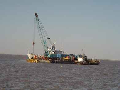 Liaohe Submarine/Offshore Pipeline Post-Trenching Project (Year 2005)