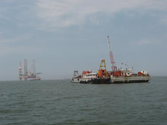 JZ9-3 Oil Field Submarine Pipeline Laying (Year 2009--CNOOC)