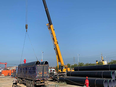Hebei Province CFD Chemical Industrial Area Submarine/Offshore Pollution Drainage Pipeline Laying Project (Year 2020--Tangshan CFD Yongtai Industrial Co., Ltd.)