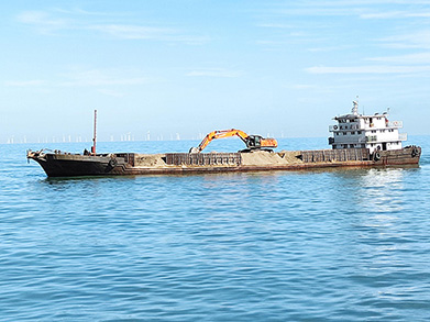 CFD Industrial Area Submarine Drainage Pipeline Laying Project was Successfully Completed