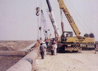Sinopec Hangzhou Bay Submarine/Offshore Pipeline Laying Project (Year 2003)