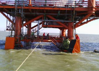 Yuedong Oil Filed, Bumper of Offshore/Subsea Production Platform A1,A2,  Design, Fabrication and Site Installation (Tincy Energy Group)