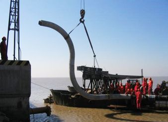Dagang Oil Field Chenghai 4X1 Submarine/Offshore Pipeline Laying Project (Year 2007--PetroChina)
