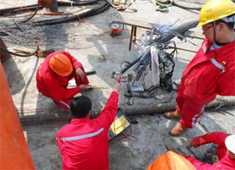 Tincy Energy Group Yuedong Oil Field Submarine/Offshore Cable Repairing (Year 2014)