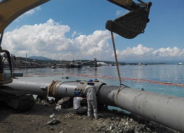 Submarine/Offshore Pollution Drainage & Water Transportation Pipeline Laying and Repairing