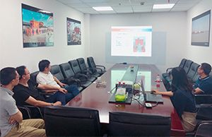 Cooperation Negotiation with Guangzhou Water Transport Engineering Design and Research Institute