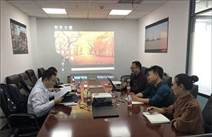 China SINOMACH Heavy Industry Corporation Visited Tianjin Timeast Offshore Engineering Co., Ltd. for Submarine Pipeling Laying Project Investigation