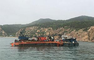 Congratulations on the Successful Commencement of Dalian Offshore/Submarine Cable Laying Project !